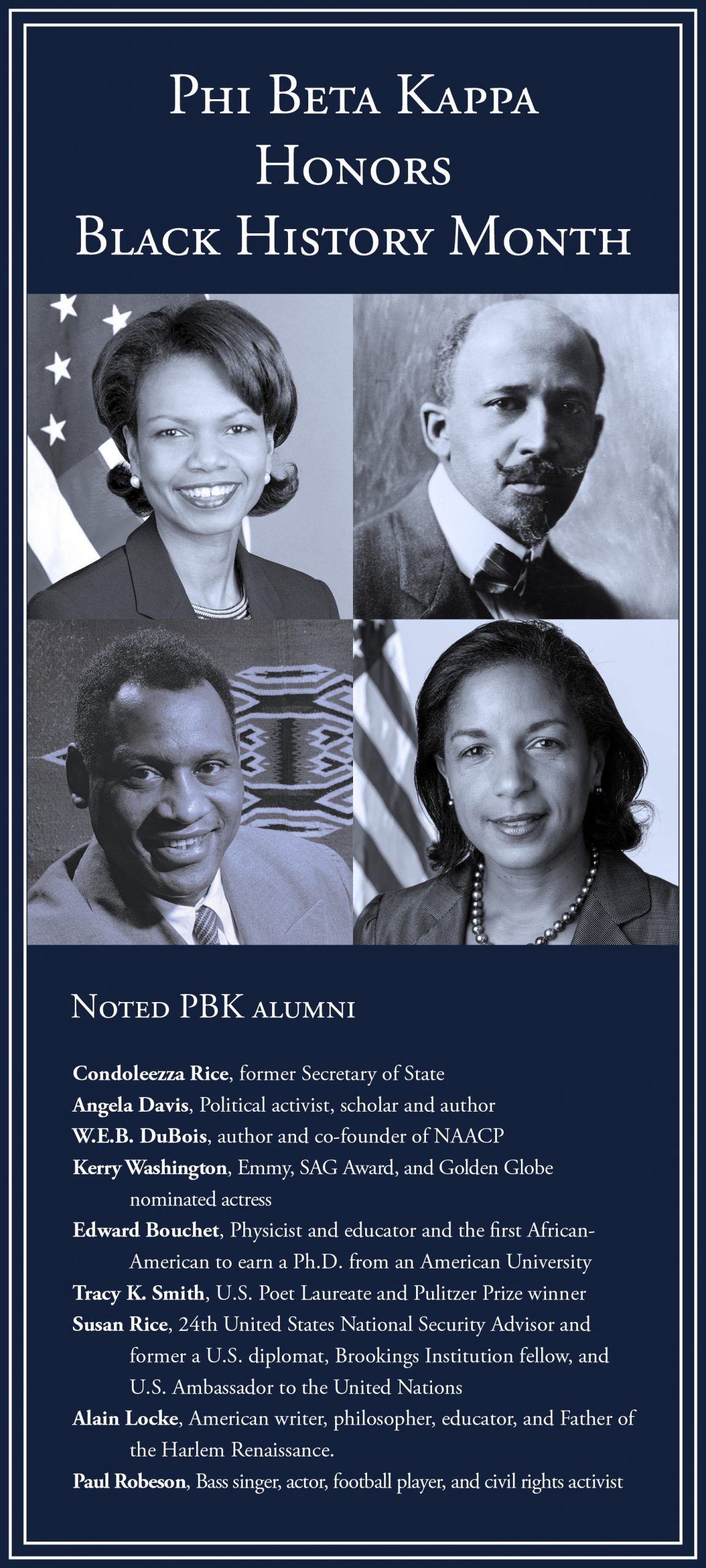 Phi Beta Kappa honors Black History Month