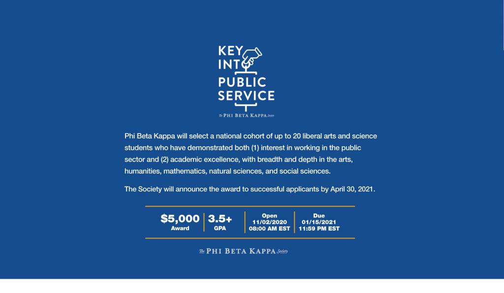 PBK Scholarship Notice (1)